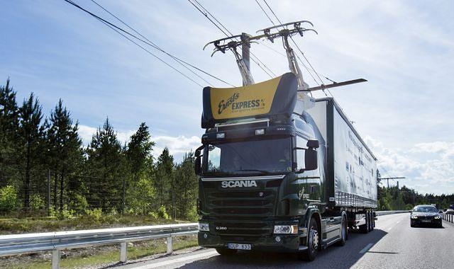 Autostrada dla elektrycznych ciężarówek