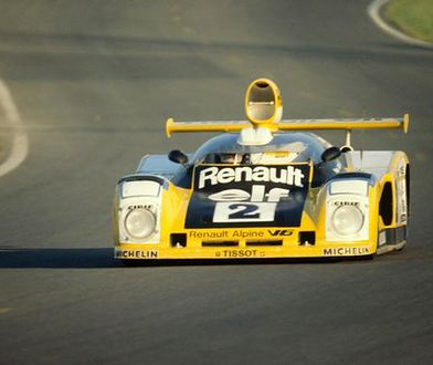 Flota Alpine - Renault na starcie Mans Classic