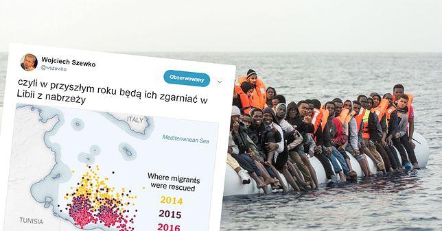 To zdjęcie obnaża całą prawdę o kryzysie imigracyjnym? Jest hitem w polskiej sieci