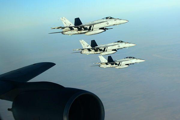 Lotnictwo USA znów uderzyło na Państwo Islamskie w Syrii