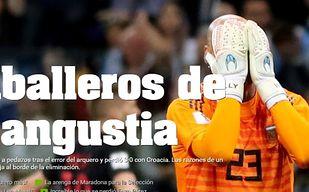 Media w Argentynie miażdżą swoich piłkarzy