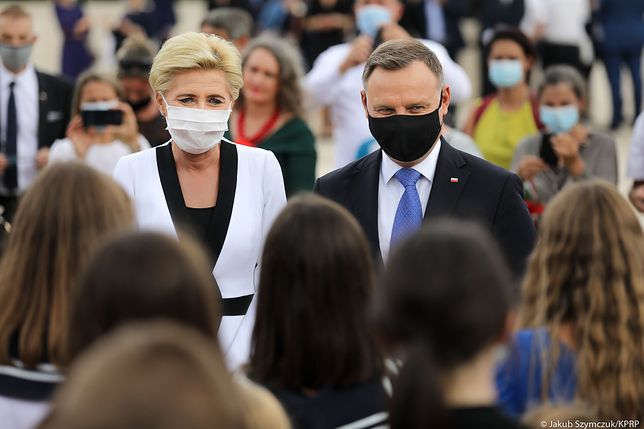 Para prezydencka podczas wizyty we Włoszech