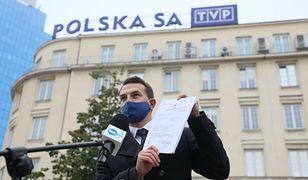 TVP kontra poseł. Adam Szłapka: czekam na informacje o zarobkach