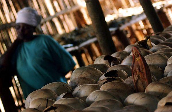 Jedno z wielu miejsc pamięci ofiar ludobójstwa w Rwandzie