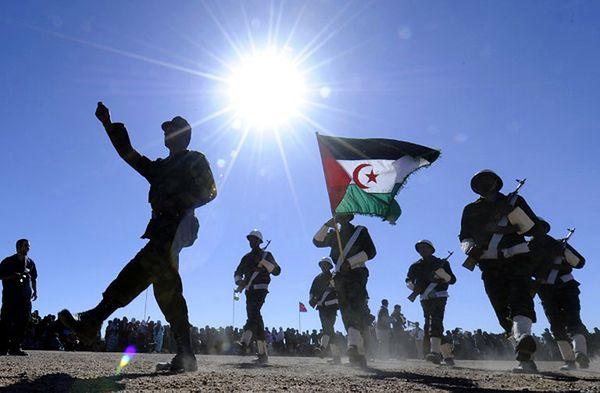 Żołnierze walczącego o niepodległość Sahary Zachodniej Frontu Polisario