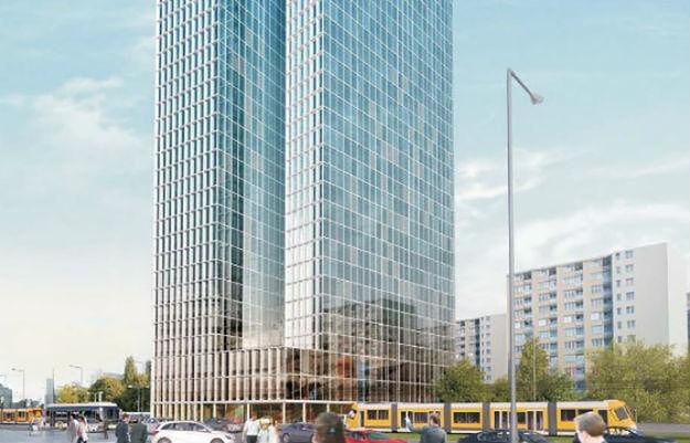 Spółka Srebrna chce zbudować w centrum Warszawy 190-metrowy wieżowiec.