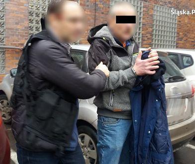 Policjanci z Zabrza zatrzymali mężczyznę, który próbował zgwałcić trzy kobiety