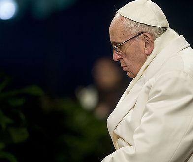 Papież Franciszek prosi o wybaczenie ofiary księży