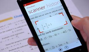 Aplikacja PhotoMath to marzenie uczniów i studentów