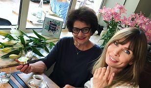 Agnieszka Dygant z mamą.