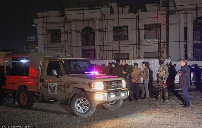 Irak. Atak na kurdyjski Erbil i bazę USA. Zabity i ranni