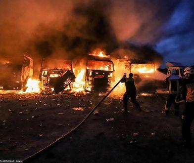 Eskalacja konfliktu w Syrii. Atak rosyjskich sił powietrznych