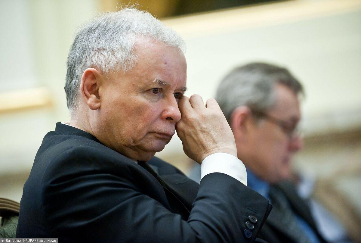 Jarosław Kaczyński nie jest zadowolony z obecnej sytuacji PiS.