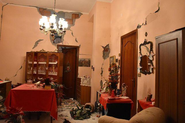 Trzęsienie ziemi na Sycylii. Ewakuowano ok. 600 osób