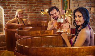 Piwne spa - nietypowy pomysł na relaks w różnych zakątkach Polski