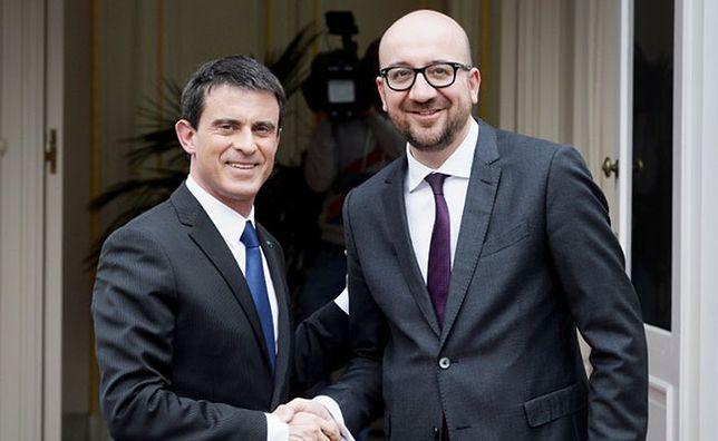 Manuel Valls i Charles Michel
