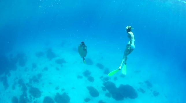 Karlie Kloss odwiedziła Wielką Rafę Koralową