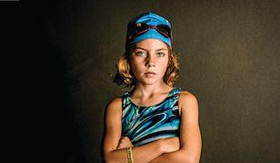 Jestem dziewczyną, więc mogę wszystko! To zdjęcie Kate T. Parker zrobiła córce przed jej pierwszym triathlonem.