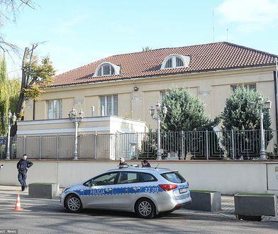 Warszawa. Budynek ambasady Izraela przy ul. Krzywickiego
