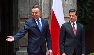 Prezydenci Polski i Meksyku podpisali deklarację ws. strategicznego partnerstwa