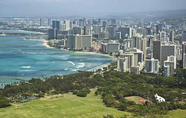 Miejsce 8. Honolulu, Hawaje