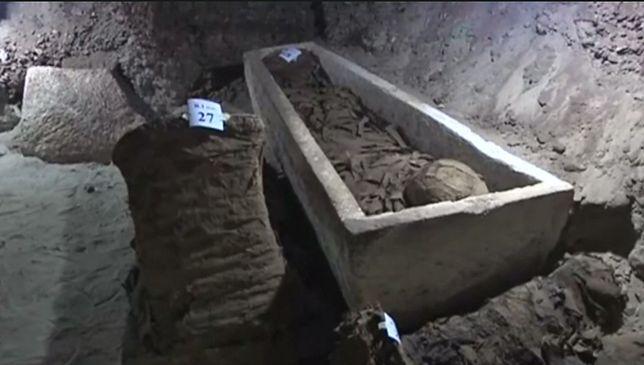 Niezwykłe odkrycie w Egipcie