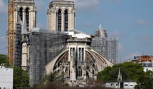 """Dwa lata temu wybuchł pożar w Notre Dame. """"Polacy mają w sercach paryską katedrę"""""""