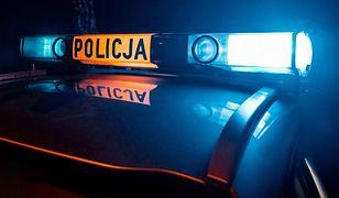 Dwaj funkcjonariusze CBŚP zostali ranni w wypadku w Warszawie