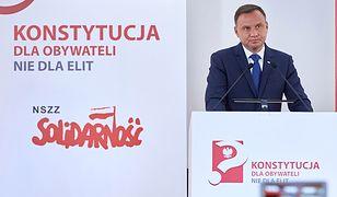 Prezydent Andrzej Duda zainaugurował cykl debat o nowej konstytucji.