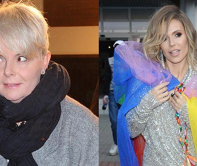Karolina Korwin Piotrowska skomentowała tęczową stylizację Dody