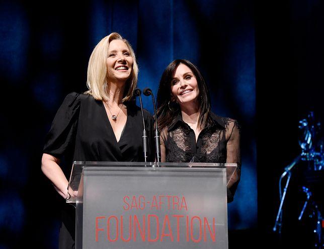 """Do SAG należą m.in. Couteney Cox i  Lisa Kudrow z serialu """"Przyjaciele""""."""