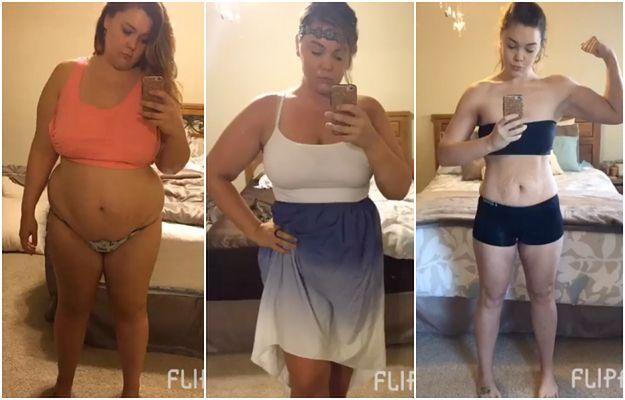 Po śmierci męża schudła 55 kilogramów! Niesamowitą przemianę udokumentowała na 365 zdjęciach