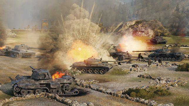 """W Moskwie odbywają się mistrzostwa świata w """"World of Tanks""""."""