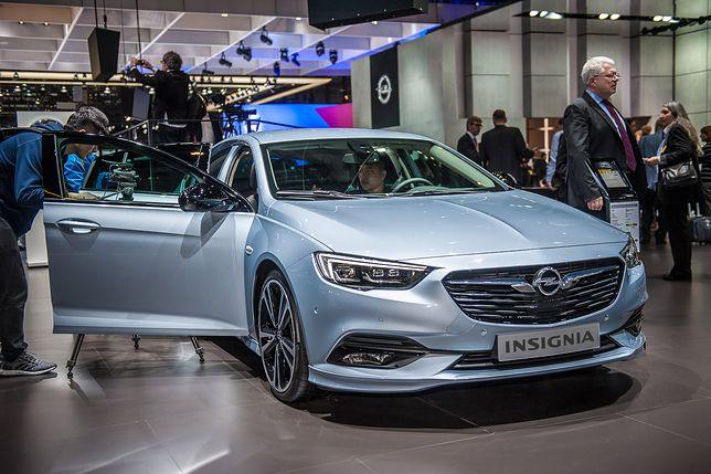 Nowy Opel Insignia w Genewie