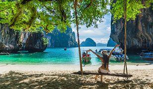 Plaże Tajlandii zdecydowanie przyciągają turystów w porze suchej