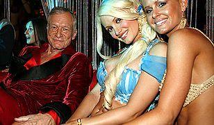 Hugh Hefner i króliczki Playboya