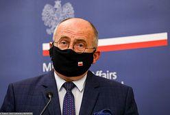 Gdzie zniknął minister Rau? Wiceszef MSZ zabiera głos