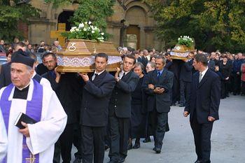 Pogrzeb gimnazjalistów