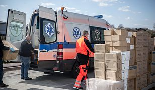Miasto przekazało miejskim szpitalom setki tysięcy środków ochronnych.
