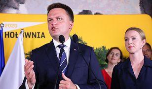 Wyniki wyborów 2020. Szymon Hołownia i nowe szczegóły organizacji jego ruchu obywatelskiego.