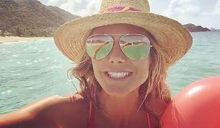 Heidi Klum pokazała się topless!