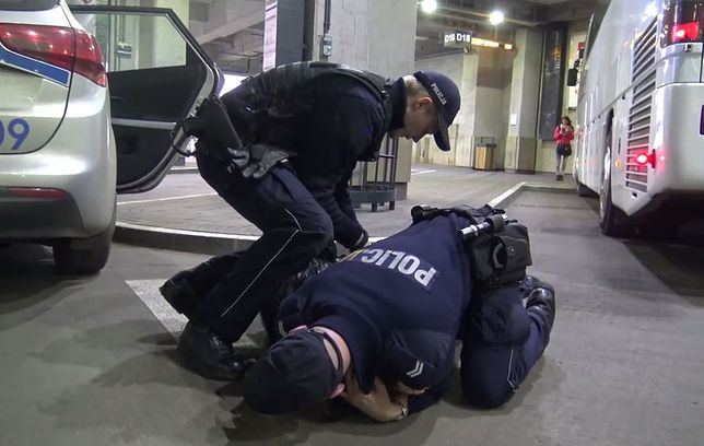 Wardęga kontra policja. Co się wydarzyło na krakowskim dworcu?