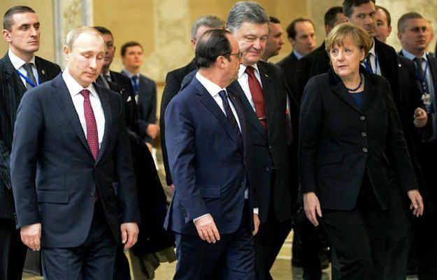 Spotkanie szefów MSZ czwórki normandzkiej w Paryżu