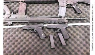 Broń, którą znaleziono u 23-latka