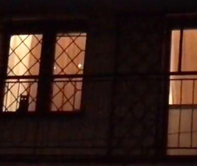 """Czaruś """"odparł"""" atak protestujących przed domem prezesa PiS"""