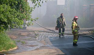 Skażenie po pożarze w Chorzowie? Strażak wskazuje na problem