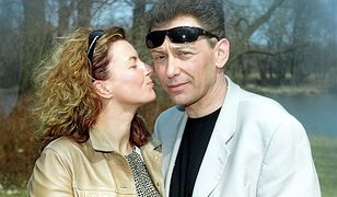 Jacek Borkowski z żoną Magdaleną