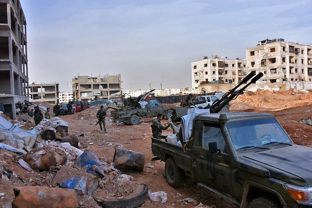 Syryjskie Obserwatorium: wszystkie części starego Aleppo w rękach armii