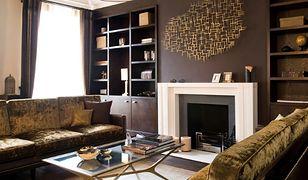 Ciemny kolor ścian - jakie meble i dodatki do nich pasują?
