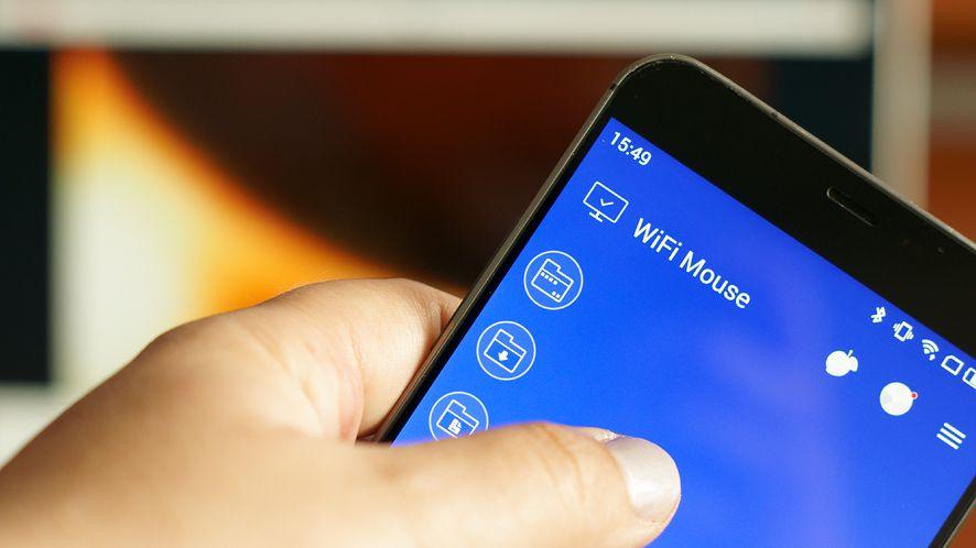 Z WiFi Mouse smartfon może być klawiaturą, myszką, pilotem i padem
